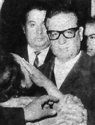 Salvador Allende - Salvador Allende in 1964.