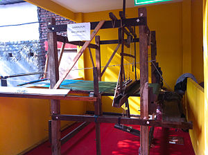 Odisha Ikat - Double Ikat weaving loom in Sambalpur, Orissa