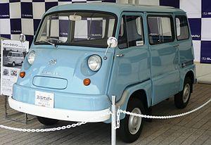 Subaru Sambar - The first generation (1961–1966)