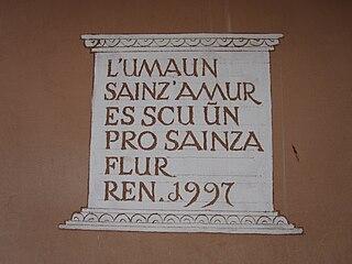 variant of Romansh