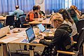Samhuinn Wikipedia editathon at University of Edinburgh editathon - 31st October 2016 - 07.jpg