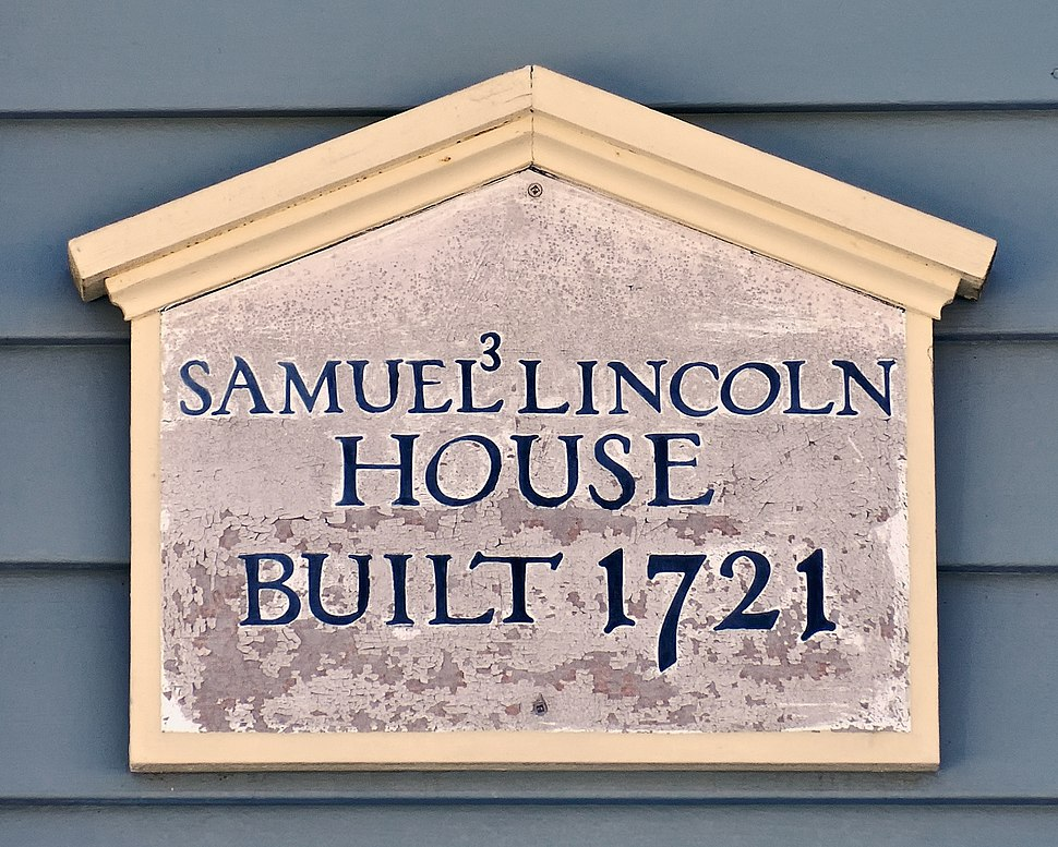 SamuelLincolnHouseSign