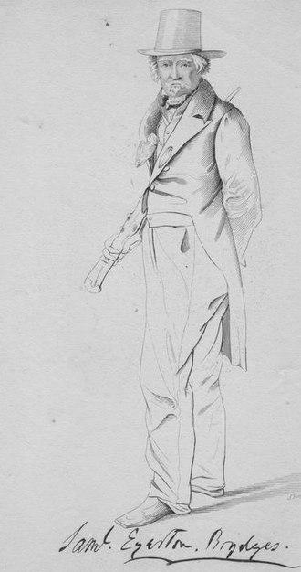 Egerton Brydges - Image: Samuel Egerton Brydges