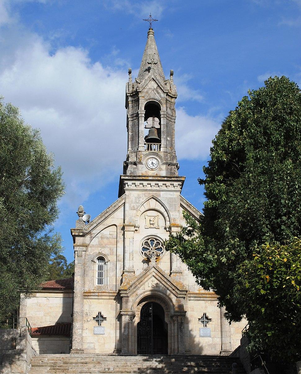 Igrexa de San Bieito de Gondomar, en Gondomar, Pontevedra.