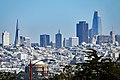 San Francisco skyline from Golden Gate Bridge, 09 2017.jpg
