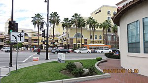 Chinatowns in the United States - Hilton Square in San Gabriel, California