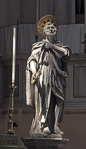 Giovanni Ferrari (sculptor) - Saint Peter San Geremia in  Venice
