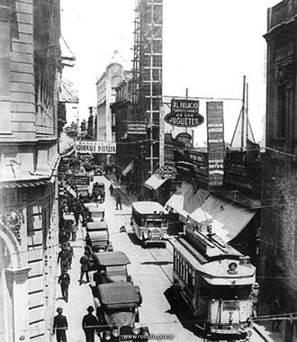 Rosario Tramway - The city had a tramway network until 1963.