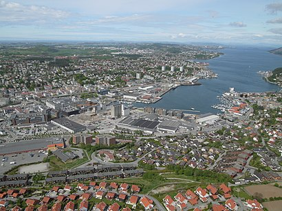 How to get to Sandnes with public transit - About the place