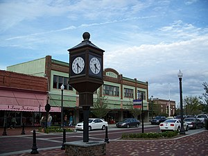 : : Street clock