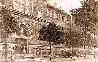 St. Elisabeth's Hospital, Copenhagen - St. Elizabeth's Hospital shortly after its opening in 1905