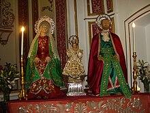 Sant'Anna, San Gioacchino e Bambina