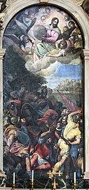 Santa Giustina (Padua) - Conversion of St. Paul by school of Veronese