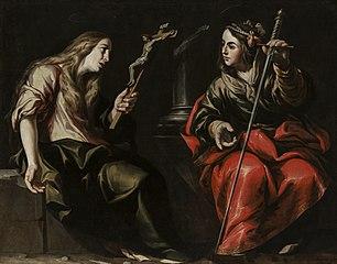 Santa María Magdalena y Santa Catalina