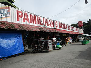 Santo Tomas, Batangas - Public market
