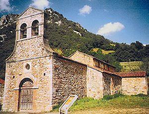 Church of Santo Adriano de Tuñón - Image: Santo adriano de Tuñon