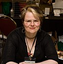 Sara Ryan at Stumptown Comics Fest 2009.jpg
