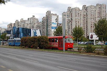 How to get to Alipašino Polje with public transit - About the place