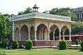 Sawan Pavilion - North-east View - Hayat-Bakhsh-Bag - Red Fort - Delhi 2014-05-13 3326.JPG