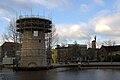Schiedam - Molen De Kameel in aanbouw - 13 dec 2009.jpg