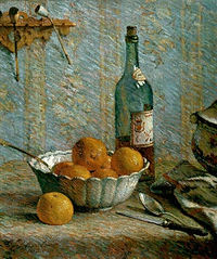 Still Life with Bowl and Fruits