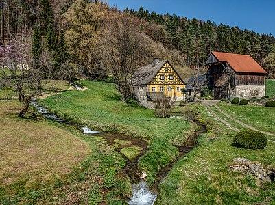 Old mill (Schulmühle) in Franconian Switzerland