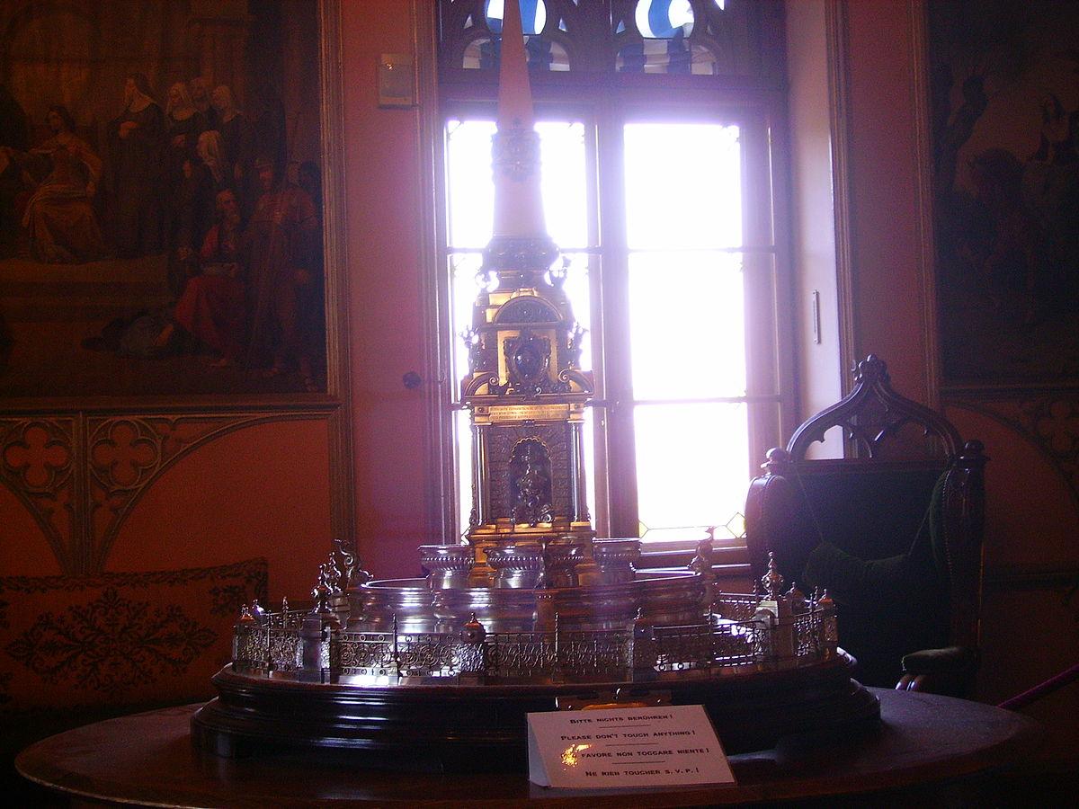 File Schwangau Schloss Hohenschwangau Innen 3 Jpg Wikimedia Commons