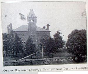 Scio College - 1921 photo