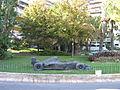 Sculpture of racing automobile in Monaco 10.2008 049.jpg