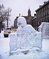 Sculpture sur glace - place Jacques-Cartier Montreal.JPG