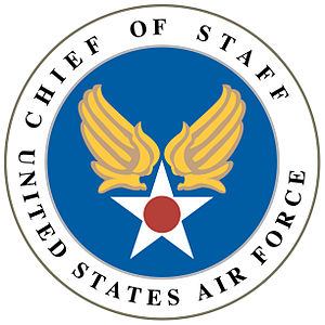 Chief of Staff of the United States Air Force - Image: Seal of the Chief of Staff of the United States Air Force