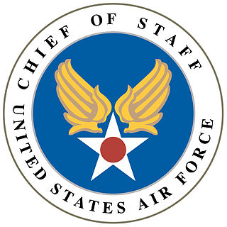 Chief of Staff of the United States Air Force Statutory office held by a four-star general in the United States Air Force
