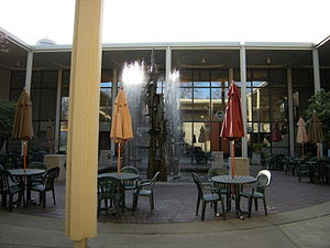 Intiman Theatre Festival - Courtyard of the Intiman Playhouse. Photographed 2009.