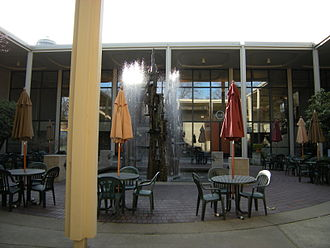 Seattle Repertory Theatre - Courtyard of the Seattle Playhouse, now Intiman Theatre (2009).