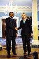 Secretary Clinton Shakes Hands With African Union Commission Chairperson Ping.jpg