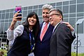 Secretary Kerry Poses For 'Selfie' With Former Ambassador Locke Following Trade Speech at Boeing Co. in Washington.jpg
