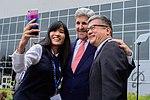 Secretary Kerry Poses For 'Selfie' With Former Ambassador Locke Following Trade Speech at Boeing Co. in Washington.jpg