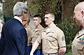 Secretary Kerry Shakes Hands With Marine Security Guards.jpg