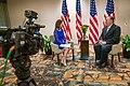 Secretary Pompeo Interview with Tessa Spencer (49048304543).jpg