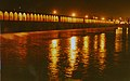 Seeyosepol BRIDGE in ISFAHANat night - panoramio.jpg