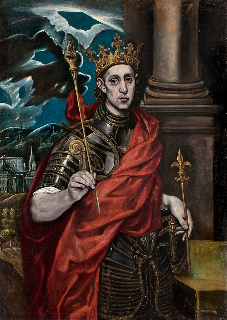 King Of Coins Pentacles As Advice: St Louis, King Of France