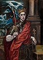 Seguidor del Greco - St Louis, King of France - Google Art Project.jpg
