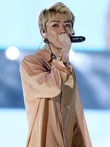 Sehun at Lotte Family Festival in October 2016.jpg