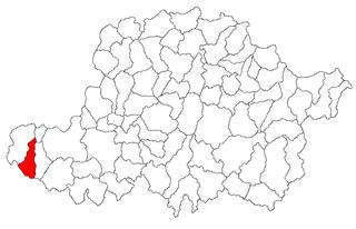 Șeitin Commune in Arad, Romania