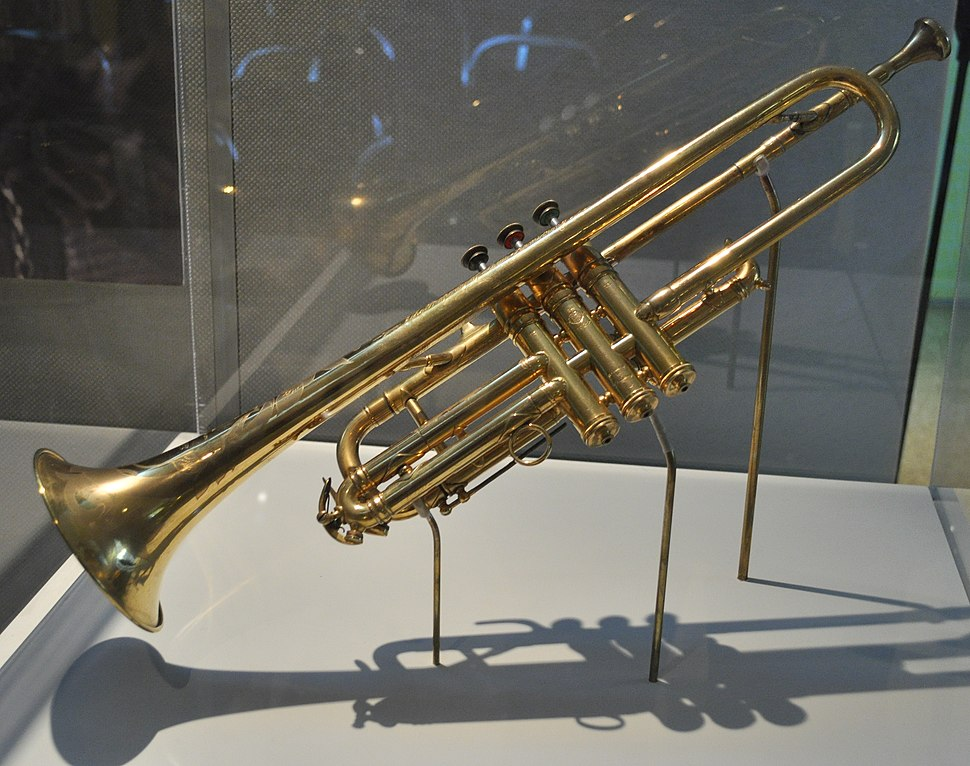 Selmer Trumpet given by King George V to Louis Armstrong