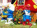 Sergines-FR-89-carnaval 2017-char des Schtroumpfs-03.jpg