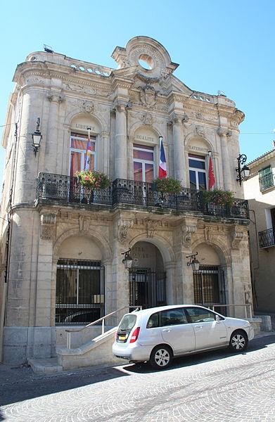 Servian (Hérault) - mairie.