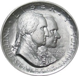 Sesquicentennial american independence half dollar commemorative obverse
