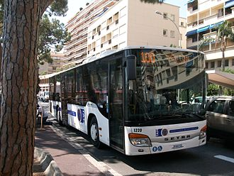 Transport in Monaco - Line 100