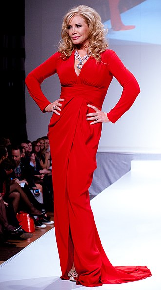 Shannon Tweed - Tweed in the 2012 Heart Truth celebrity fashion show